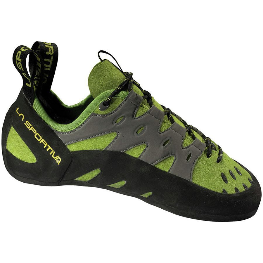 La Sportiva TARANTULACE (green) - All-around climbing shoe - Ask for your size