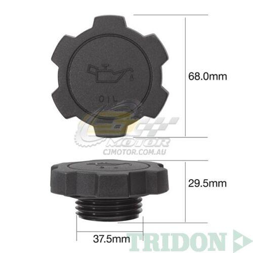 TRIDON OIL CAP FOR Toyota Landcruiser FZJ105R 03//98-10//02 6 4.5L 1FZ-FE
