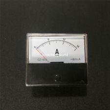 1pcs Analog Amp Panel Meter Current Ammeter Dc 0 15a 15a Dh670 Ampere Meter
