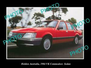 POSTCARD-SIZE-PHOTO-OF-GM-HOLDEN-THE-1984-VK-HOLDEN-COMMODORE-PRESS-PHOTO