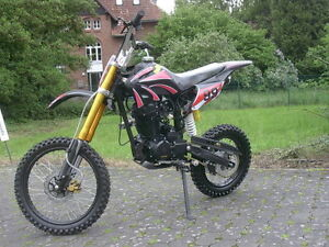 dirt bike 250 ccm vollcross cross pit 250cc 200 125 enduro. Black Bedroom Furniture Sets. Home Design Ideas