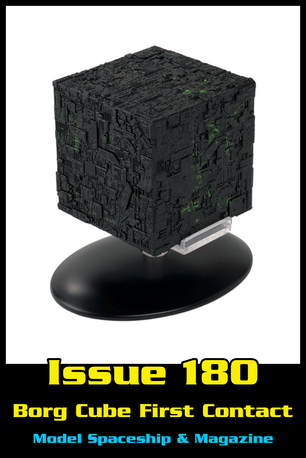 Issue 180: Borg Cube First Contact