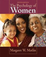 The Psychology of Women by Margaret W Matlin