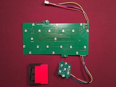 Entire New LED Module Set For Skee Ball LED Display 3 Scoring and 1 Ball Count