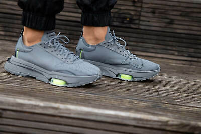 Nike Air Zoom Type SE Mens Grey Volt Black Sneaker Shoe Trainer ...