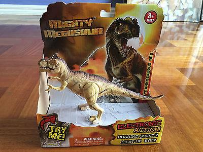 Mighty Megasaur Dinosaur Spinosaurus Electronic Action Roaring Sound Lightup Eye