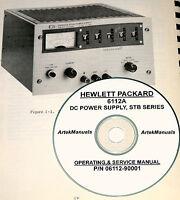 Hp 6112a Power Supply Operator & Service Manual