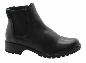 nera Ankle A11hi On Timberland pelle Boots Shoes U110 Womens in Slip Bethel SrqwYw5Fa