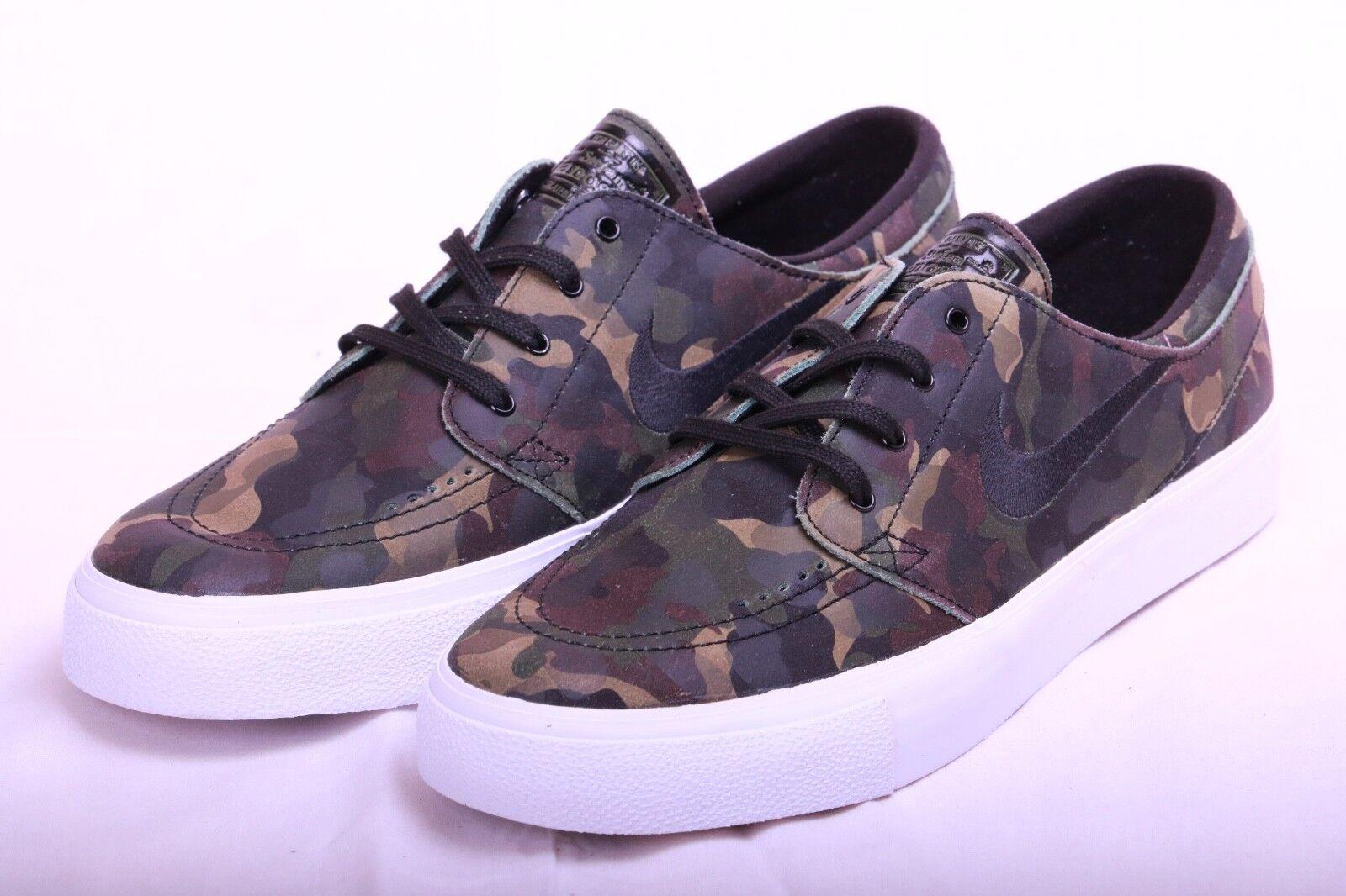 Men's Nike SB Zoom Stefan Janoski High Premium High Janoski Tape Shoes 854321 101 Size 10.5 39eb03