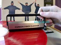 LP Carbon Fiber Vinyl Record Cleaner Anti Static Velve  Brush - Triple Bristle!