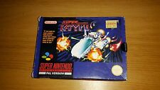 Super R-Type - Nintendo SNES Game - Boxed & Tested