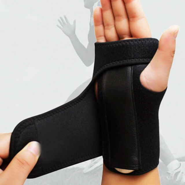 Wrist Support Hand Brace Band Carpal Tunnel Splint Arthritis Sprains AU
