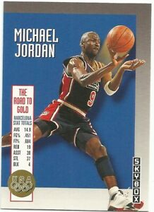 Michael-Jordan-USA-Olympic-Team-Skybox-1992-93-NBA-Basketball-Card