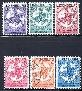 Lussemburgo 1934 Caritas timbrato. (2 foto)