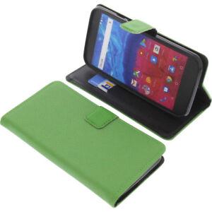 Custodia-per-Archos-Core-55-Book-Style-Protettiva-Cellulare-a-Libro-Verde