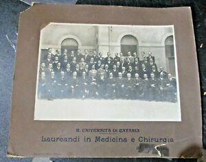 foto-originale-R-UNIVERSITA-039-DI-CATANIA-LAUREANDI-MEDICINA-CHIRURGIA-1927-28