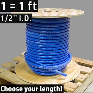 1-2-034-ID-FlexFab-5526-Blue-Silicone-Heater-Hose-13mm-350F-Radiator-Coolant-50-034