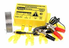 12V ELECTRIC FENCE ENERGISER KIT- 2400V - SECURITY FENCE ENERGISER KIT (BATT)