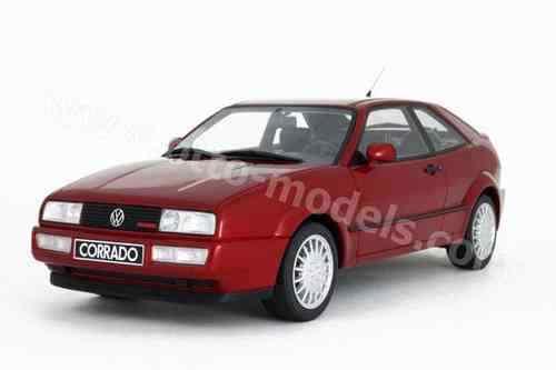 Bienvenue dans la nouvelle boutique en trois étapes pour célébrer les quatre auspicieux OTTO-MODELS OTTOMOBILE ot103 Volkswagen Corrado g60 Rouge Nouveau | Facile à Nettoyer Surface