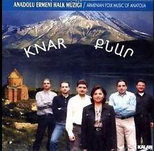 Armenian Folk Music Of Anatolia Anadolu Ermeni Halk Müziği Knar Turkish  Cd