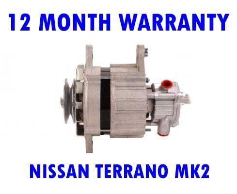 NISSAN TERRANO MK2 2.7 TD 1993 1994-02 RMFD ALTERNATOR 12 MONTH WARRANTY II