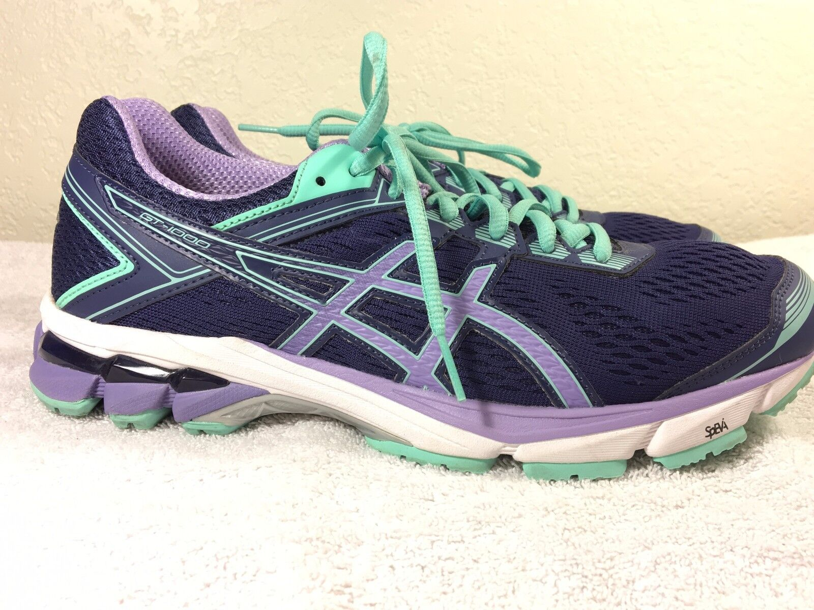 Asics GT-1000 womens running shoe size 9.5 Nice! NO INSERTS Great discount