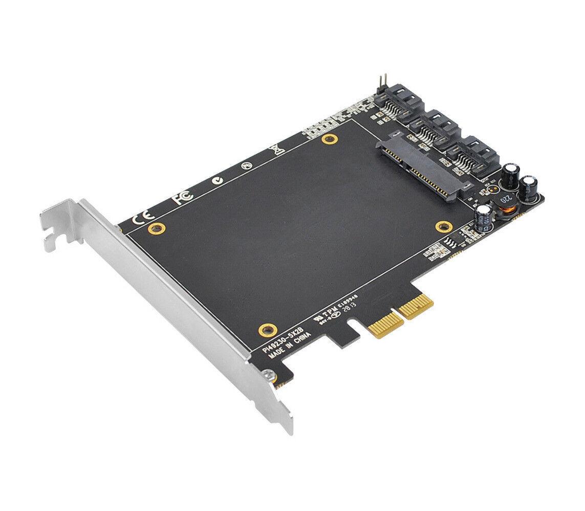 SIIG Legacy & Beyond SATA 6Gb/s 3i+1 SSD Hybrid PCIe (SC-SA0T11-S1)