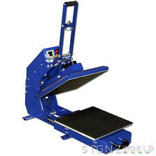 38x38cm HIGH PRESSURE SEMI-AUTO Heat Press Machine HP3804D-1 T-shirt Print+DRAW