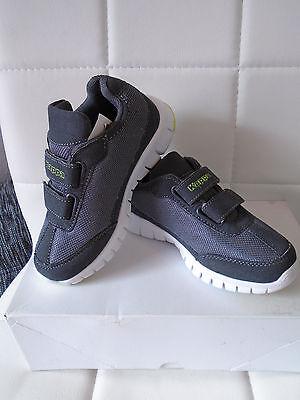 Kappa SYLVESTER II Unisex Kinder Sneakers Klettverschluss Größe 28 Neu ohne OVP