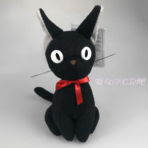 Totoro-The-Witch-039-s-Delivery-Service-Black-Cat-Kiki-Cartoon-Anime-SOFT-PLUSH-toys