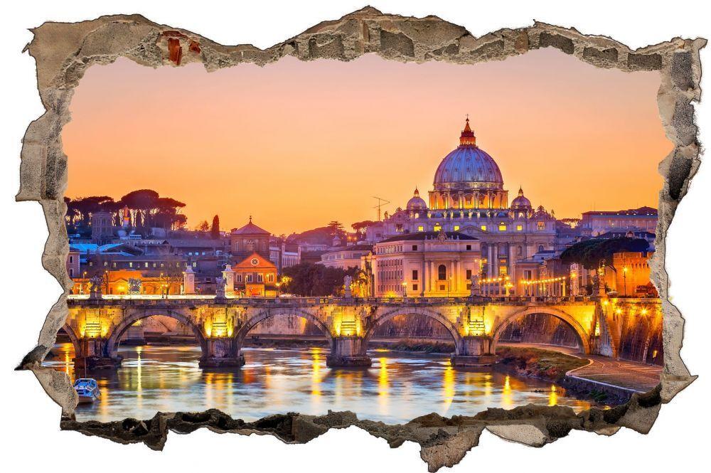 Basilique Saint-Pierre Rome Mural Italie Ville Mural Rome Sticker Autocollant d1347 2df93f
