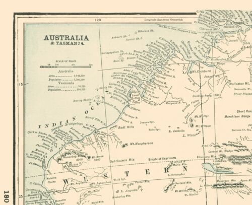 Rathbun 1893-23.00 x 28.26 Tasmania Australia