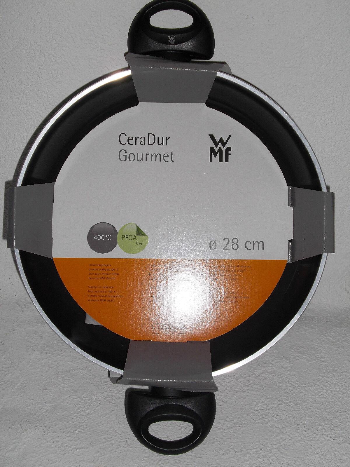 Wmf servier-poêle CeraDur Gourmet 28 cm 400 degrés résistant à la chaleur induction
