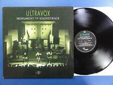 ULTRAVOX  MONUMENT THE SOUNDTRACK Chrysalis 83 A4B4 UK orig LP MINT VINYL
