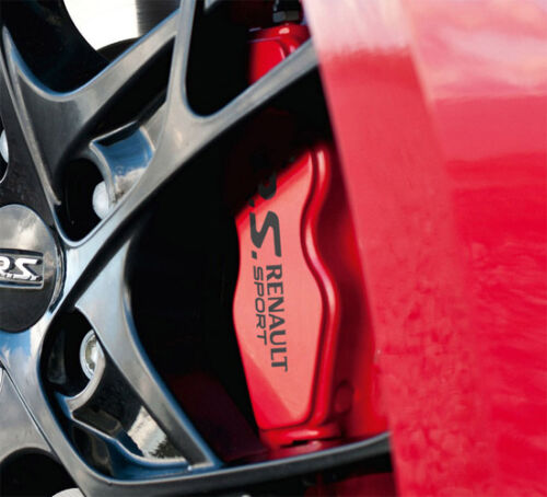 RENAULT Megane RS Premium High Temp Brake Caliper Decals Stickers Sport