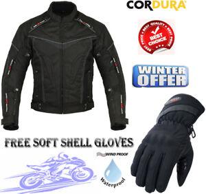 Hawk Ce Protection Textile Moto Veste Motocross Hommes Black FwOqnpdF