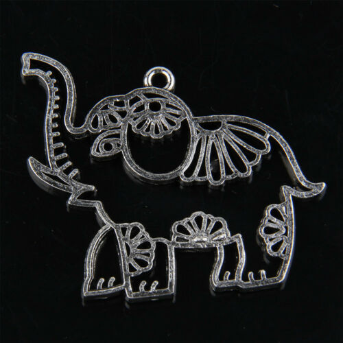 4pcs Tibetan Silver Elephant Chrms Pendants for Jewelry Making 39mm ABF197