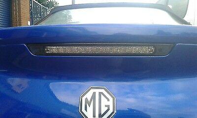 MG TF HIGH LEVEL  BOOT BRAKE LIGHT ASSEMBLY XFG000050 BRAND NEW