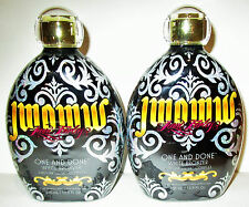 Lot of 2 AUSTRALIAN GOLD JWOWW ONE AND DONE WHITE BRONZER WITH INK DRINK COMPLEX