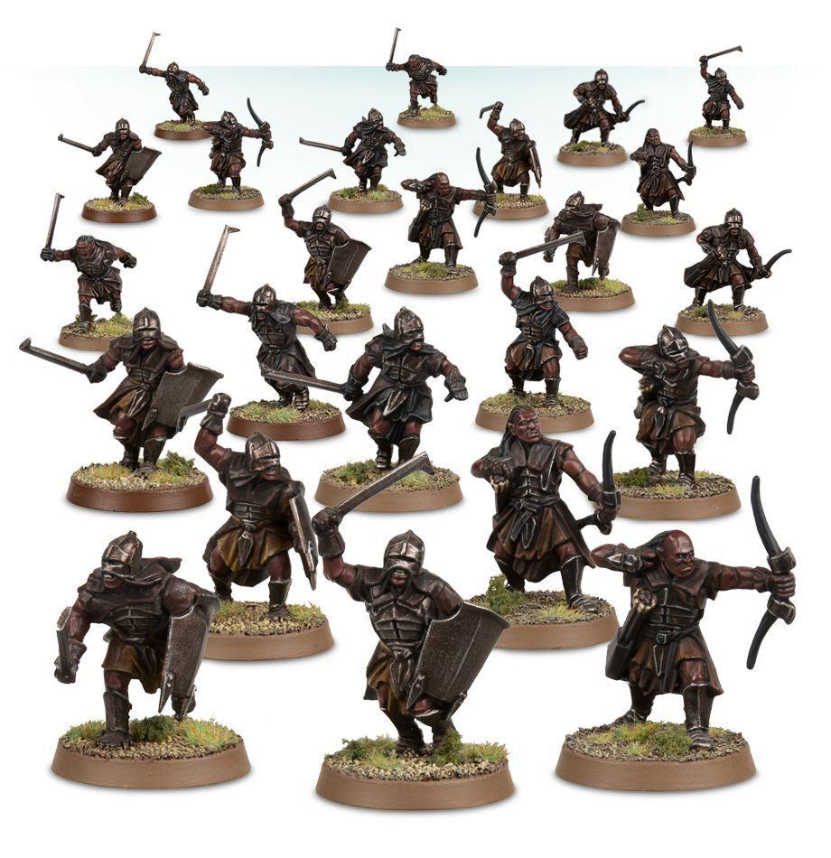 Warhammer Uruk-hai Uruk-hai Uruk-hai Scouts The Lord of the Rings plastic new 004ddf