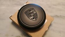 Genuine Porsche Fuch Wheel Center Caps, Brand New. Black, OEM 911-361-032-28