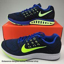 Nike AIR ZOOM STRUCTURE Scarpe da ginnastica da uomo 18 nuova scarpa da corsa palestra UK 8 RRP £ 145