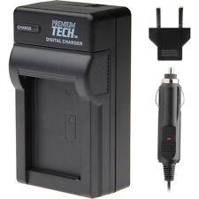 Premium Tech BP-511 Battery Charger for Canon EOS 20D 20D 30D 40D 50D 5D D30 D60