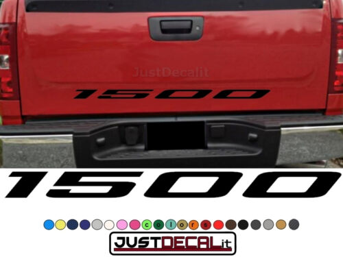 Truck Tailgate 1500 Bed Decal Graphic Letters Fits 4x4 4x2 off road