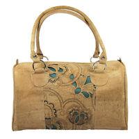 Natural Portuguese Cork Women's Handbag Made In Portugal