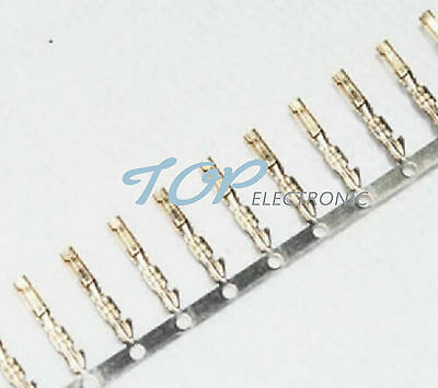 200pcs 2.54mm Dupont Jumper Wire Cable Housing Female Pin Connector Terminal