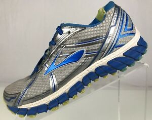 856900b3830cf Brooks Adrenaline GTS 15 Sneakers Running Silver Blue Training Shoes ...