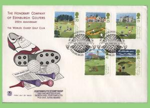 Graham Brown 1994 Conjunto de Golf en primer día cubierta, Muirfield Stuart