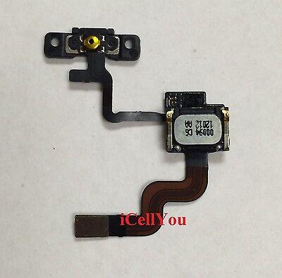 Power Button Poximity Light Sensor Flex Ear Speaker + Bracket for iPhone 4 CDMA