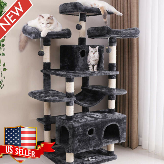Cat Tree Flower Shaped Thick Sisal
